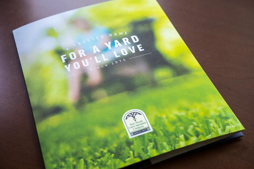 Fort Worth Lawn Sprinkler Brochure