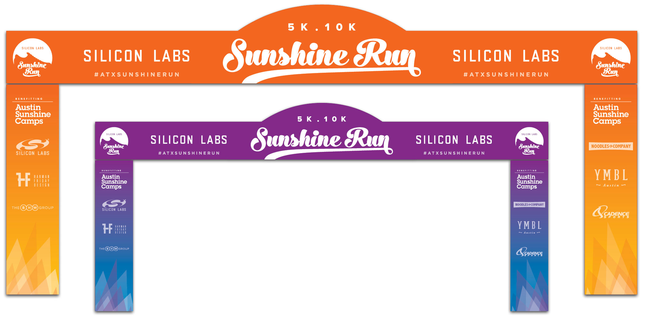 Sunshine Run Finish Line Truss Design