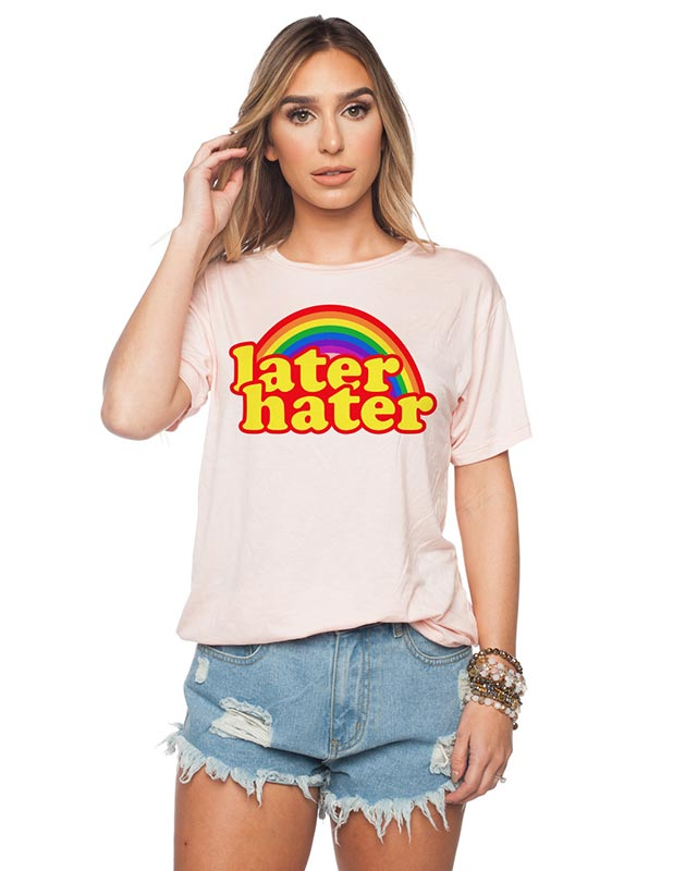 Later Hater T-Shirt Design