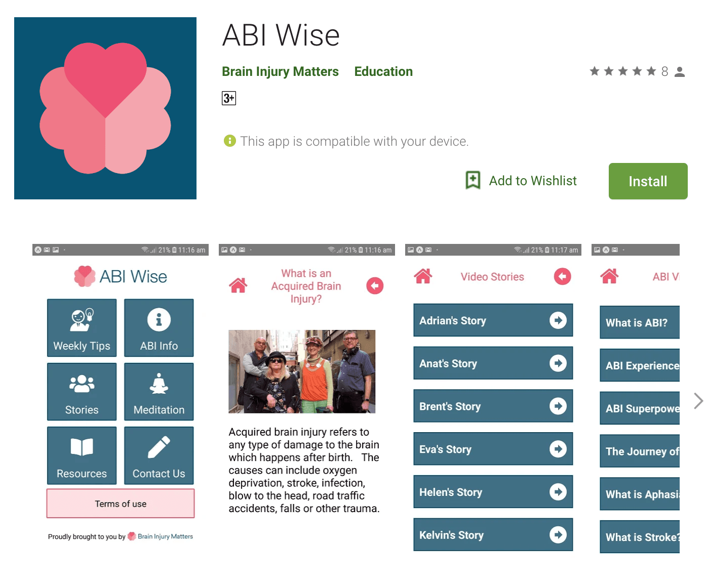 ABI Wise info on Google Play