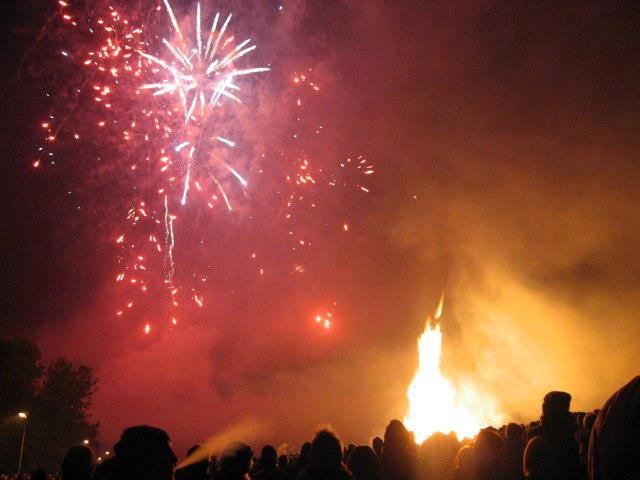 Annual Charity Fireworks Night & Candlelit Procession 2019