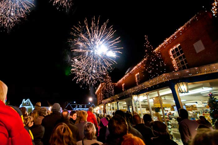Local Christmas Lights Switch On 2019