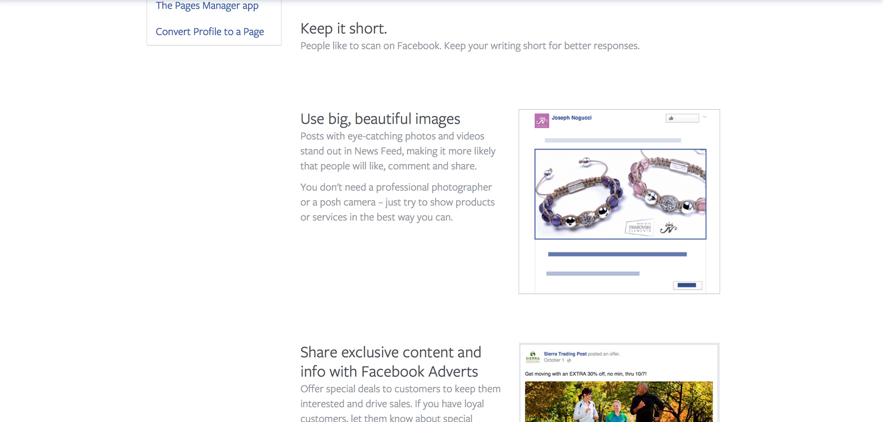 How to write effective posts for Facebook