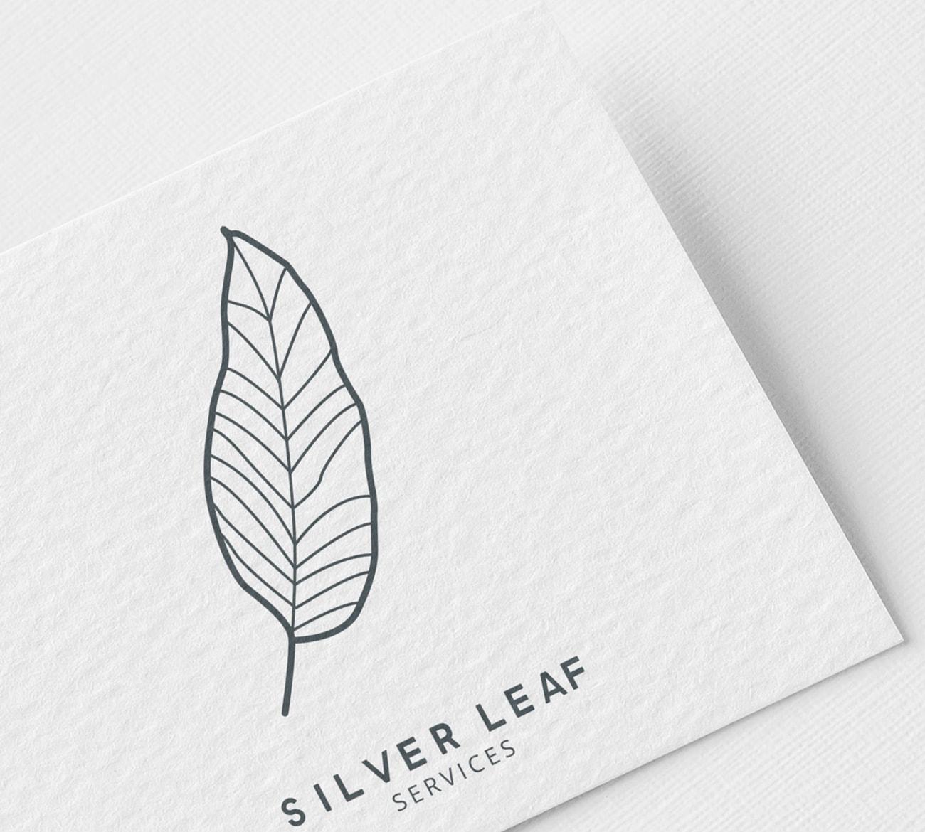 Silver Leaf Services Logo