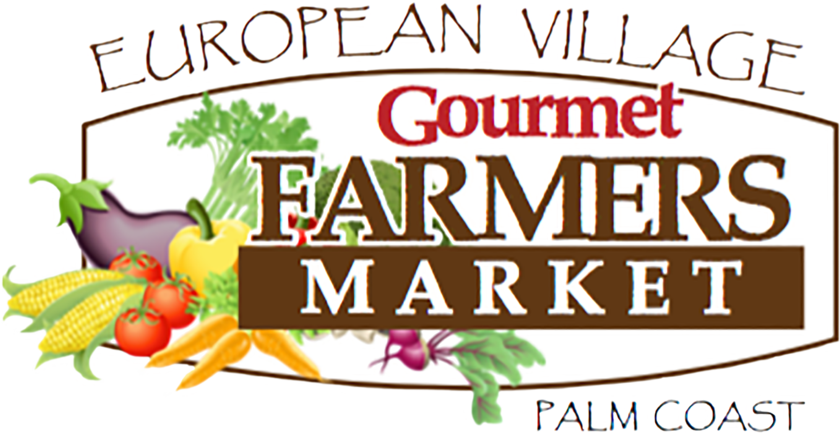 Gourmet Farmers Market at The European Village logo