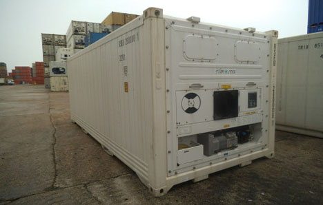 Shipping Container temperature monitoring