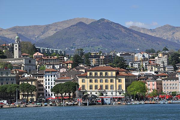 Lugano Chalet - Porlezza - Meer van Lugano - Porlezza vanaf het lugano meer