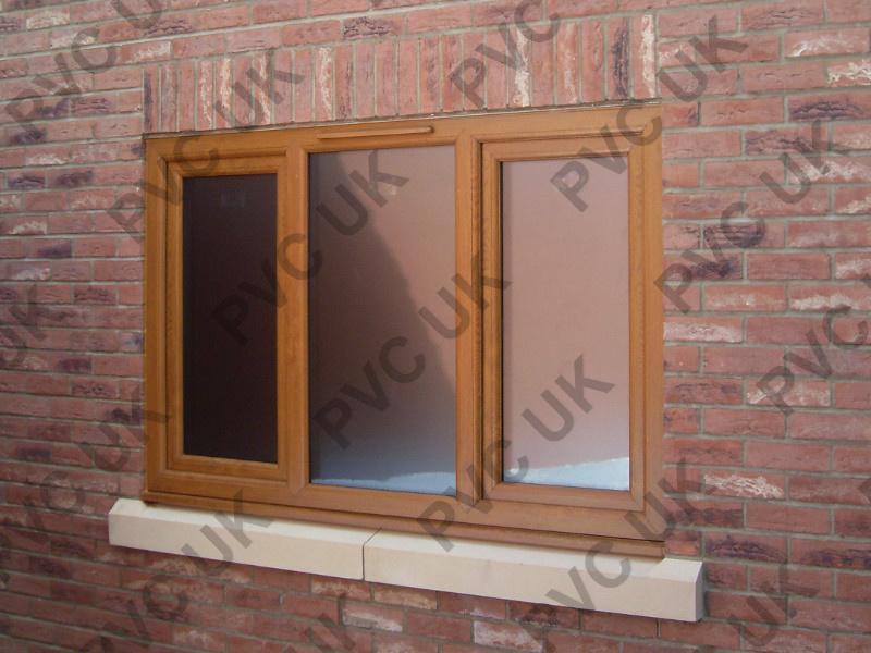 Brown PVC Window