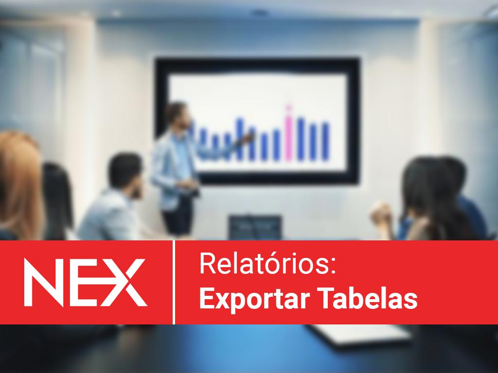 Exportar tabelas de relatórios para Excel (XLS) | Central de