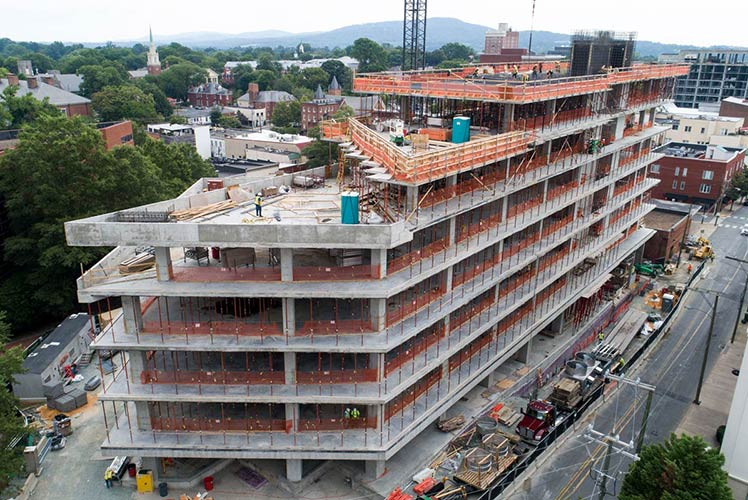 Award-winning commercial mechanical and electrical contractor based in Richmond, Va. - M&E's work on CODE