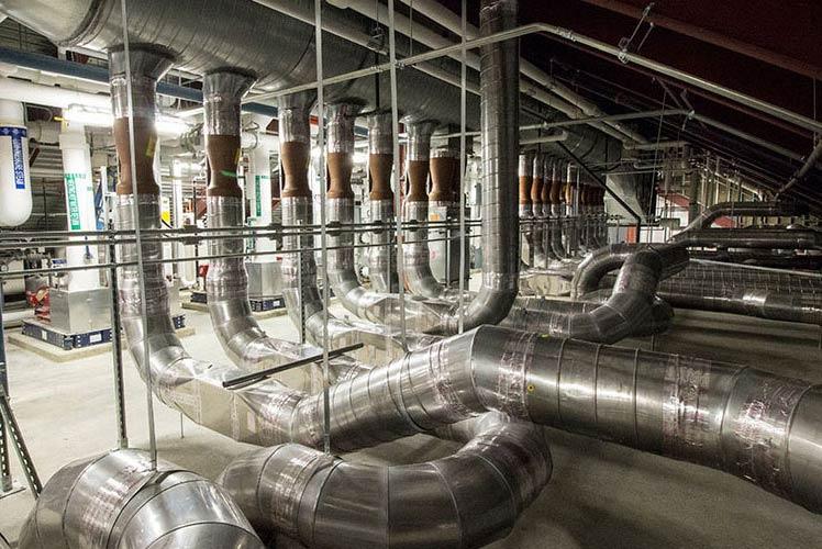 M&E Contractors HVAC piping