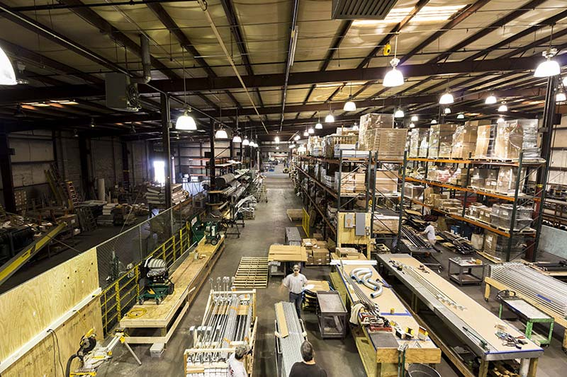 M&E's Richmond-based multi-million dollar, state-of-the-art fabrication center