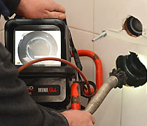 Camera inspectie voor uw riool. De Rioolmeester