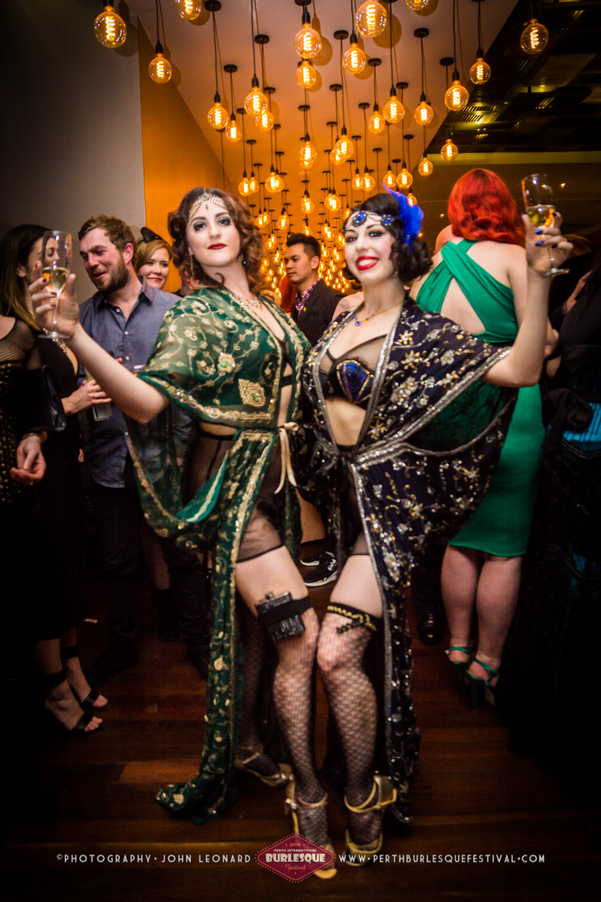 Perth burlesque performers