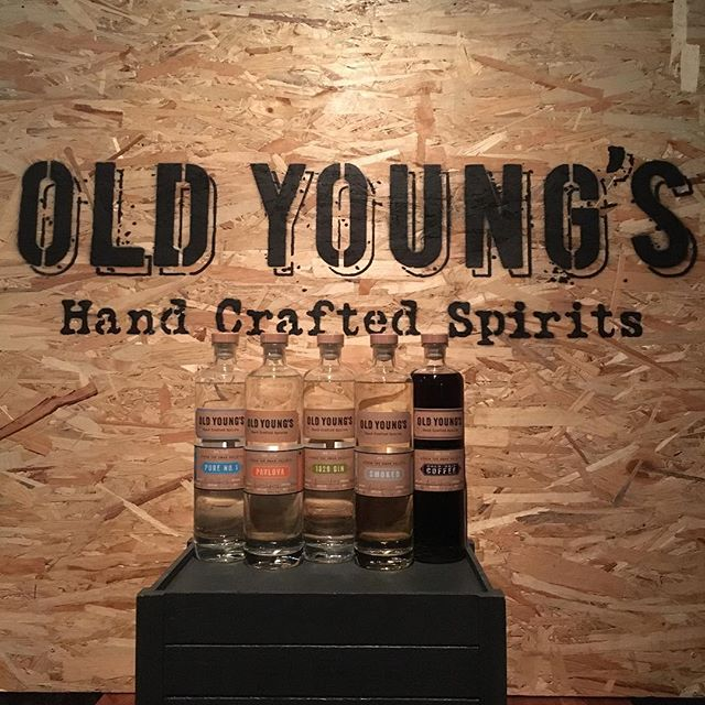 Old Young's hand-crafted spirits