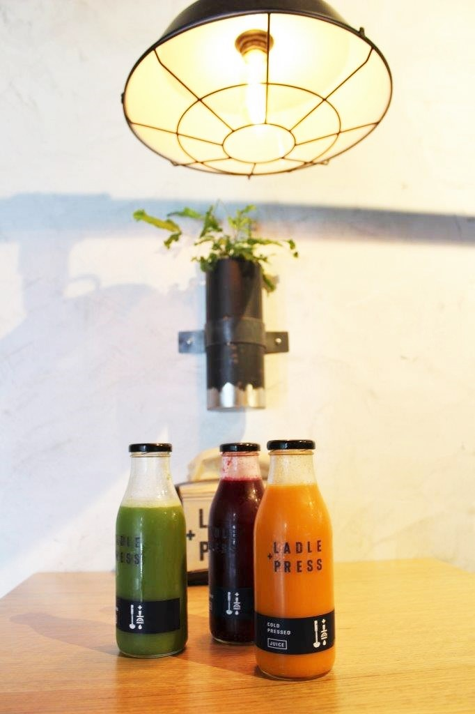 Laddle and Press juices Perth