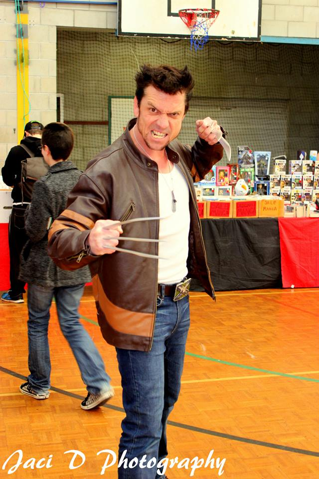 Wolverine at Tosche Station Collectors Fair