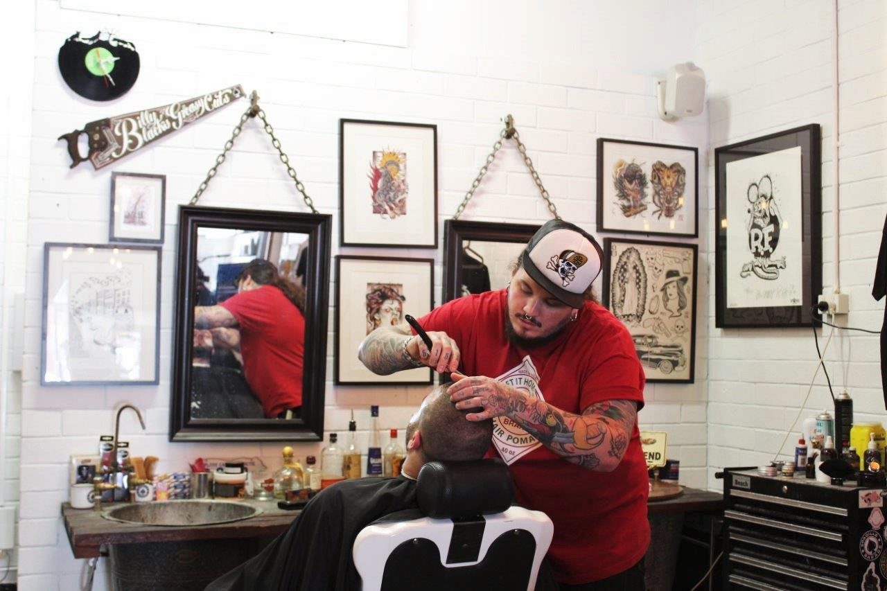 Billy Black's barbering Perth