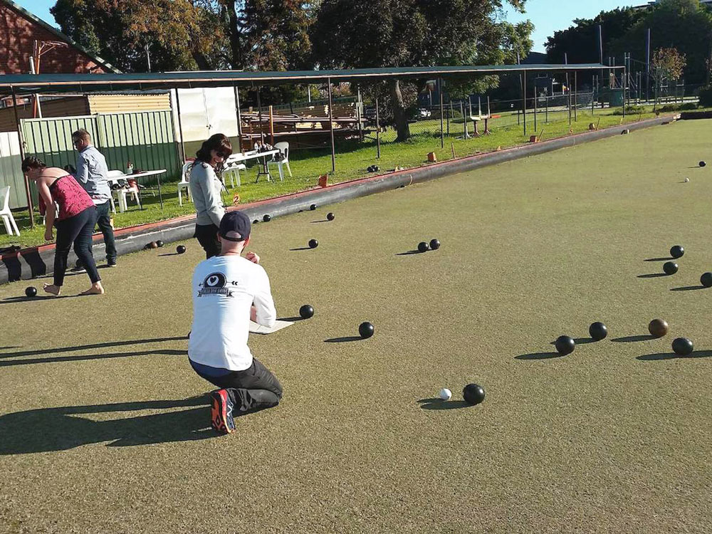Bowled Over Dating lawn bowls Perth