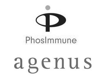PhosImmune Logo and Agenus Logo