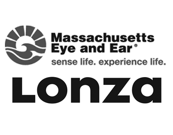 Massachusetts Eye and Ear Logo and Lonza Houston, Inc. Logo