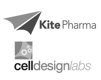 Kite Pharma, Inc. Logo and Cell Design Labs Logo