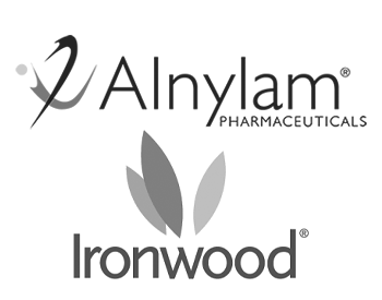 Alnylam and Ironwood Logos
