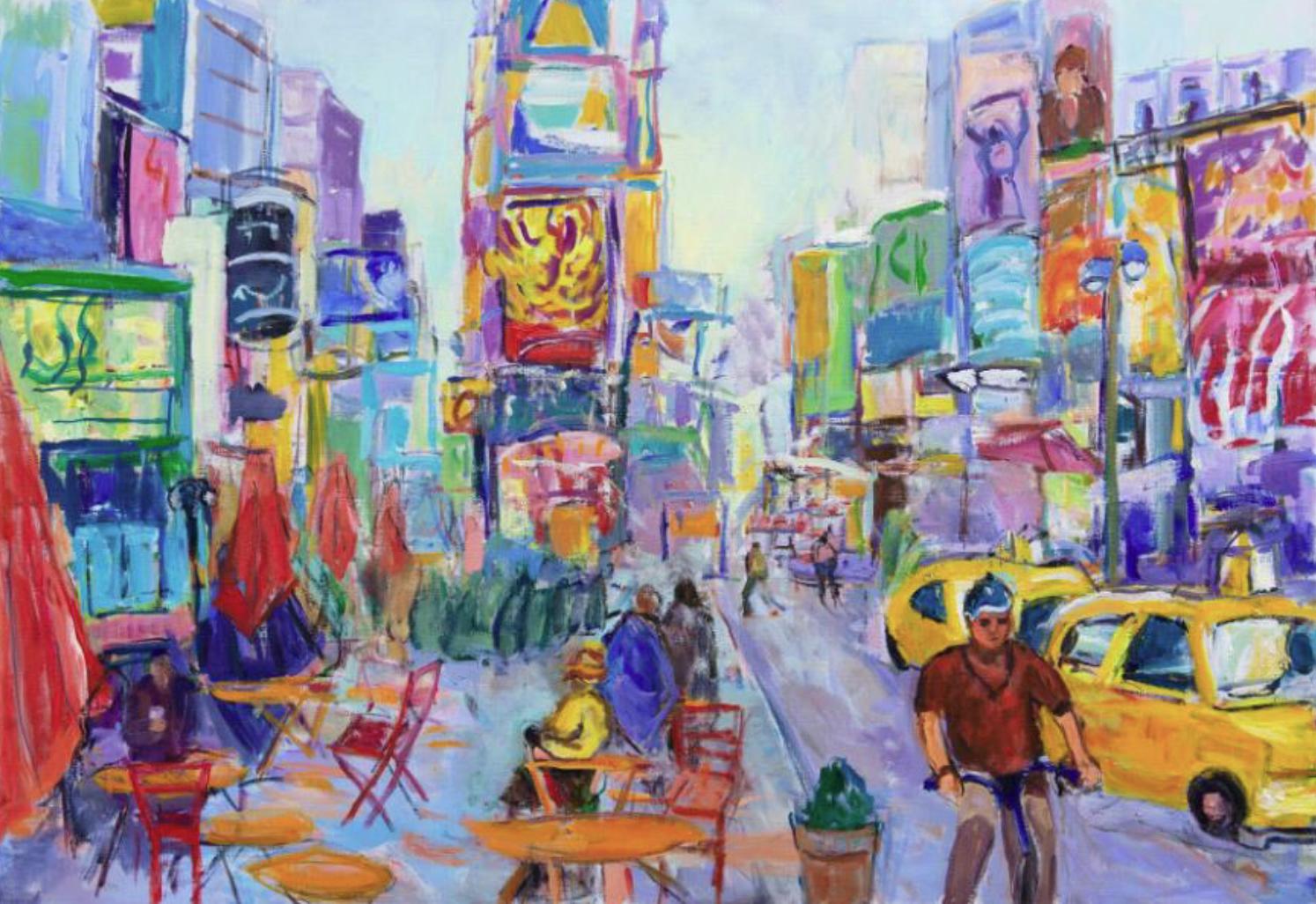 Suzanne Hodes, Times Square