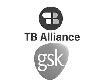 TB Alliance and GSK logo