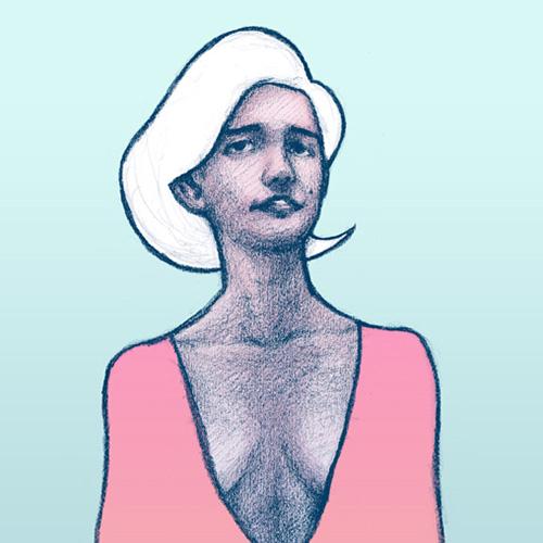 'Maria' art print by Christian Gilbang