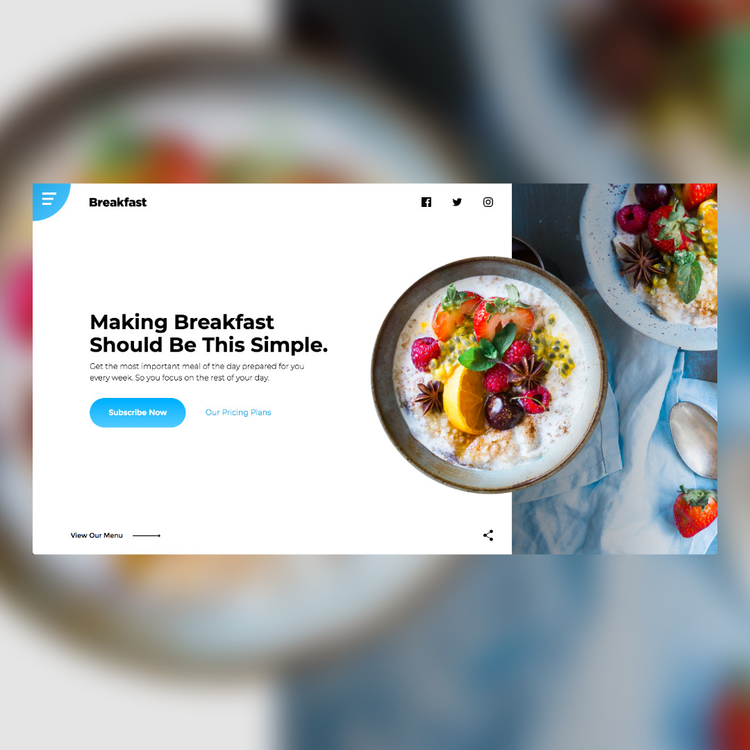 Image of Breakfast Prototype by Christian Gilbang