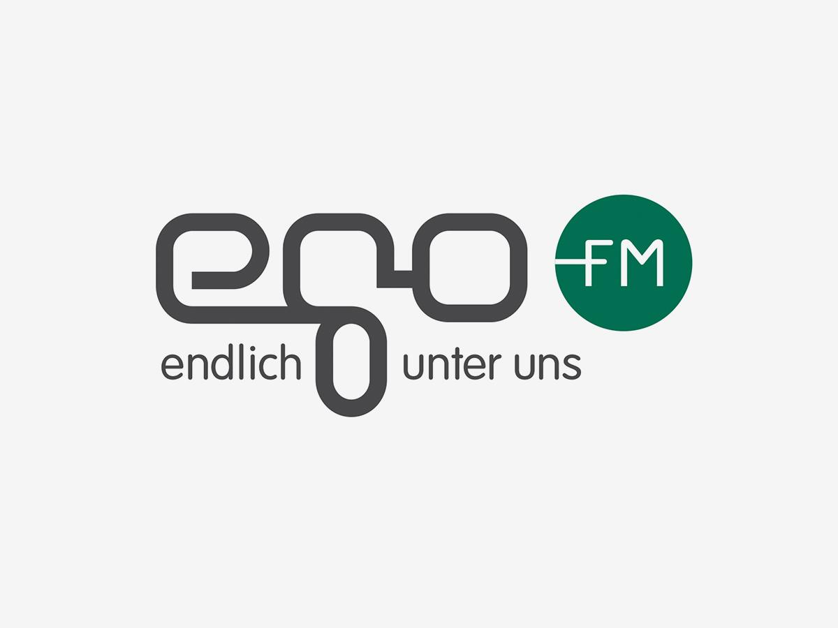 ego fm Logo Design