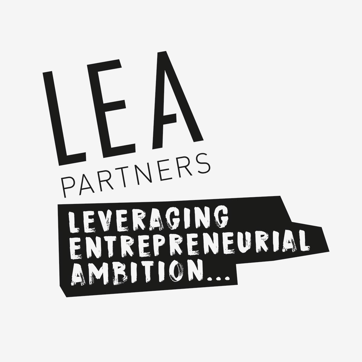 LEA Partners Logo Design