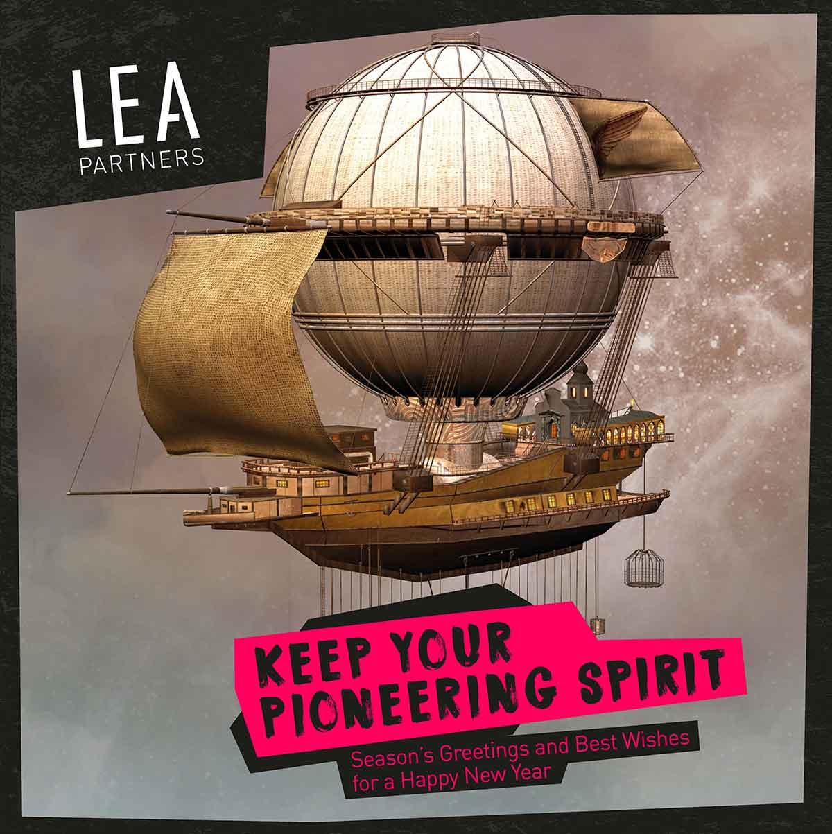 LEA Partners Xmas Cards
