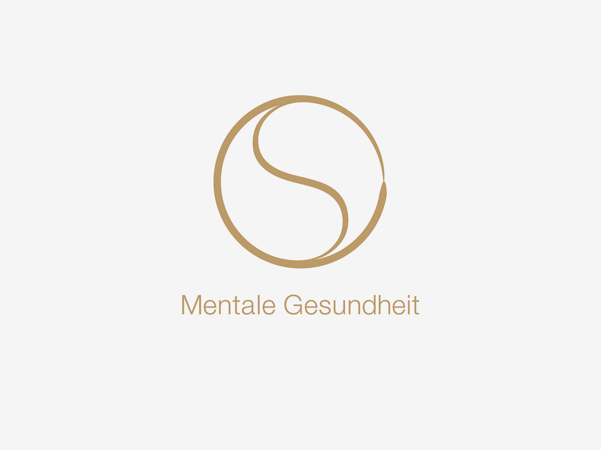 Mentale Gesundheit Logo Design