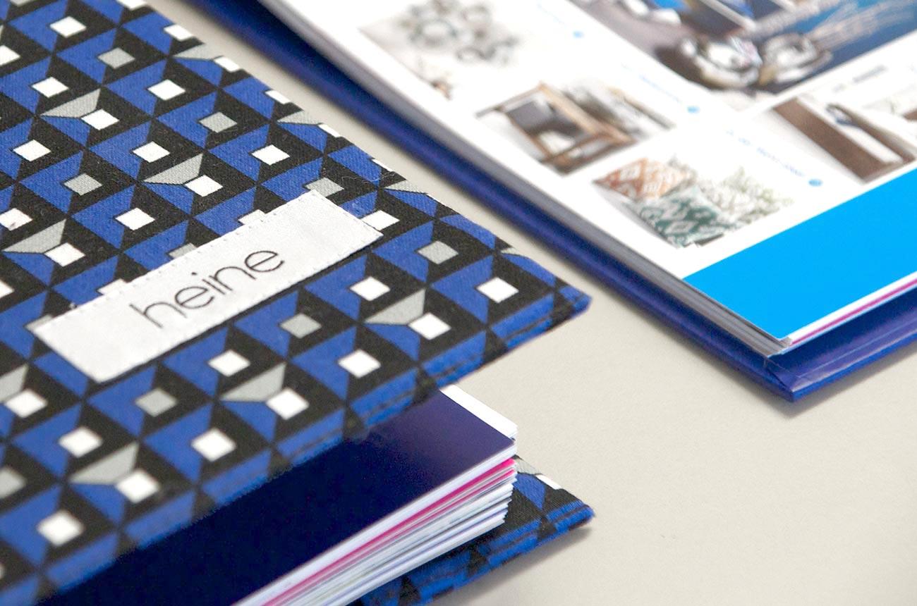 Bild: Umschlag Detail Heine Unternehmensbroschüre