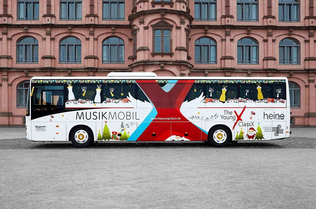 Heine ClassX Bus Gestaltung