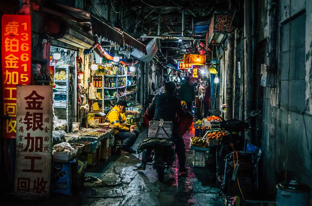 Bild – Chinesischer Markt