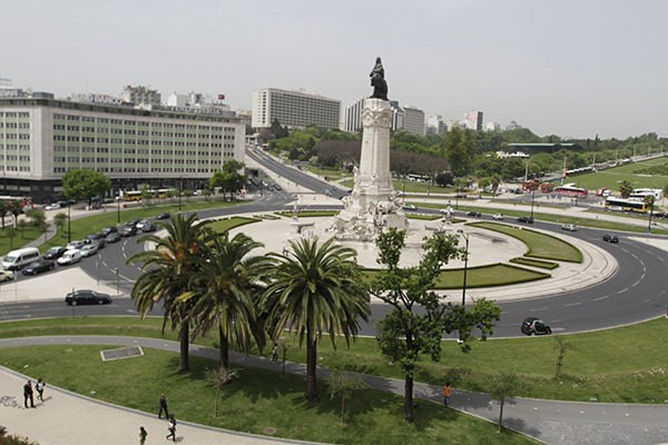Lisboa - Rotunda do Marquês