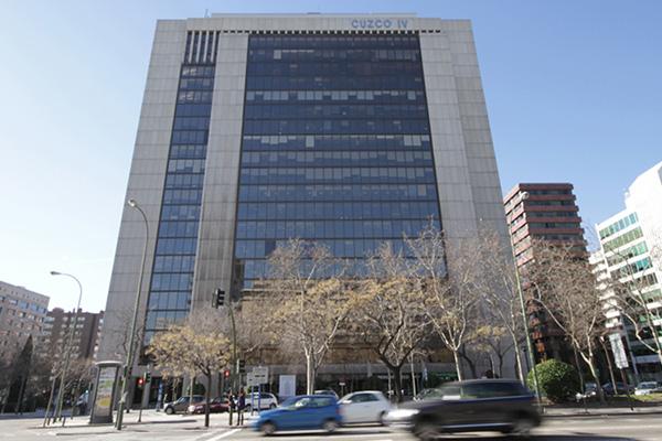 Madrid building image