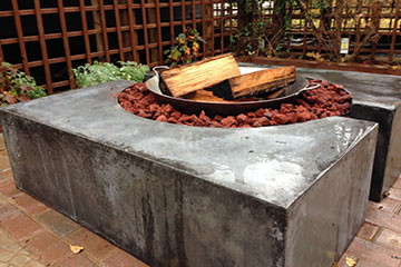 beautiful custom fire pit