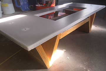 handmade custom coffee table