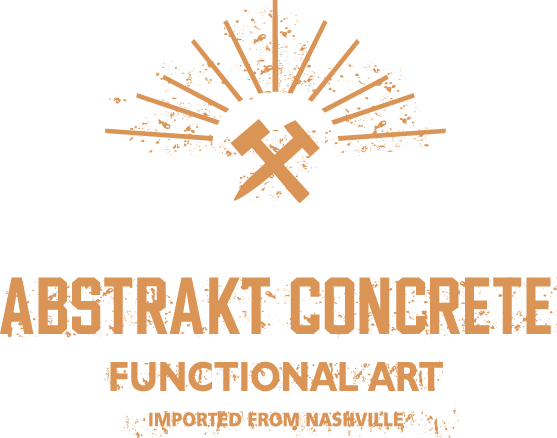 Abstrakt Concrete home logo