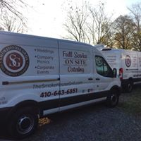 smokehouse grill catering van