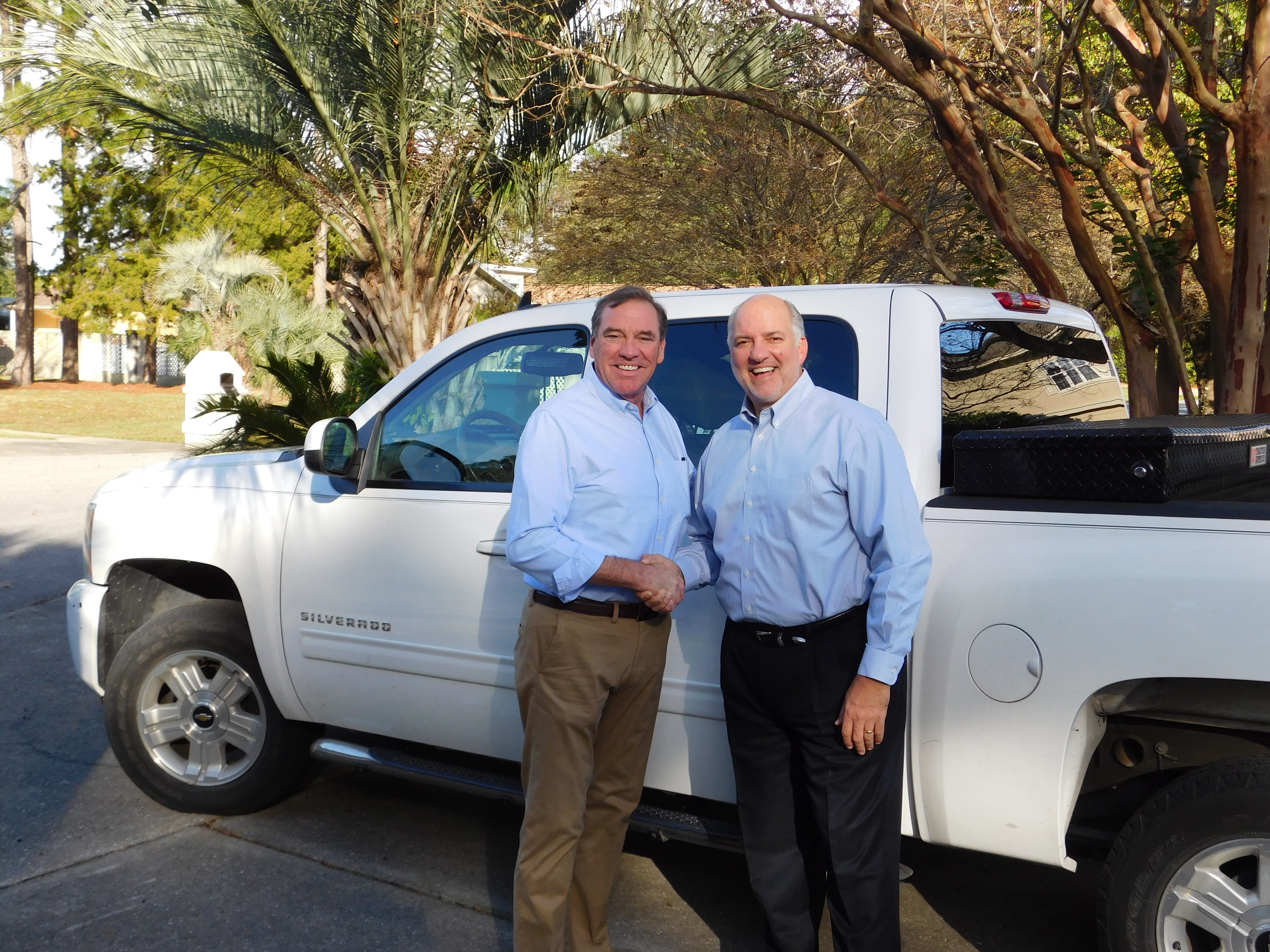 Dr. Dunn with Steve Southerland