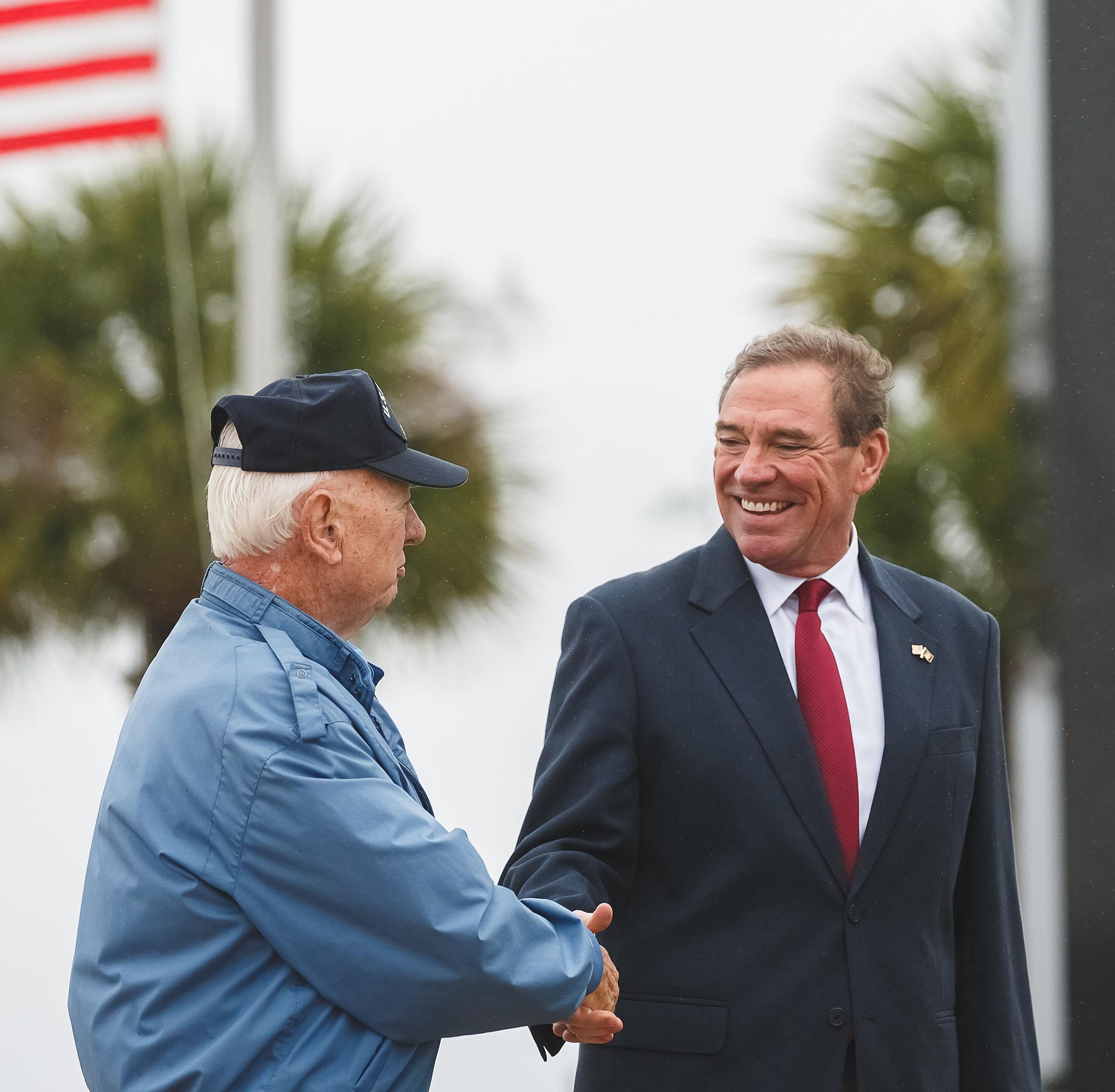 Veteran Hand Shake