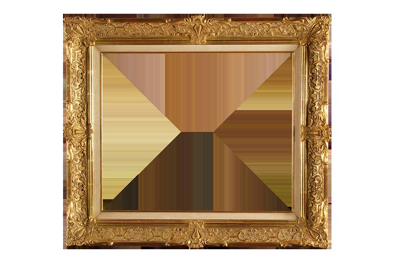 Gouden ornament lijst