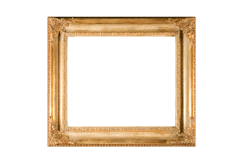 Barok Gouden schilderijlijst