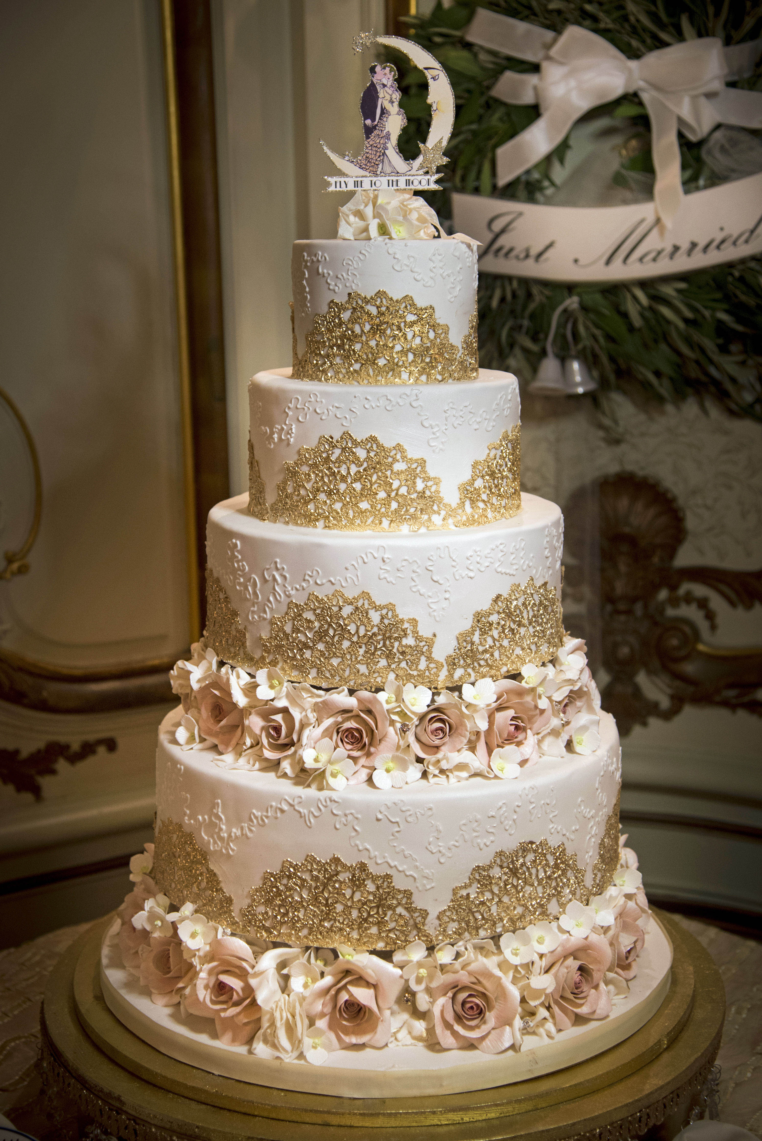 Beautifully Designed Wedding Cakes My Daughter S Cakes