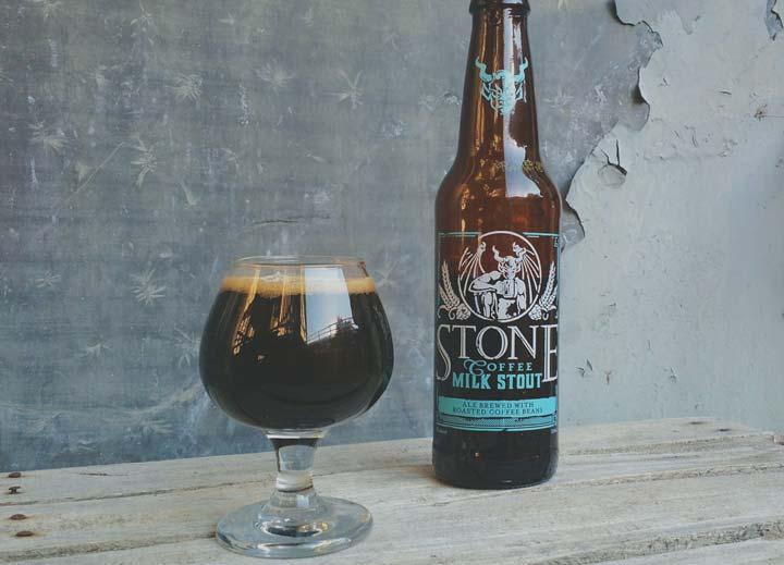 Coffee milk stout par Stone